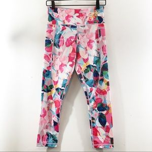 Zyia Active Floral Pocket Light n Tight Leggings